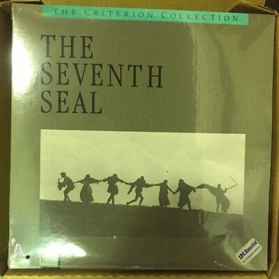 The Seventh Seal - Criterion Collection Laserdisc Movie - NEW