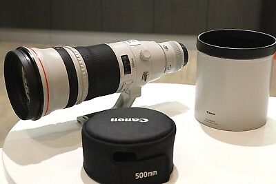 Canon 500mm f4 L IS II in Very Good Condition With Complete Lens Case