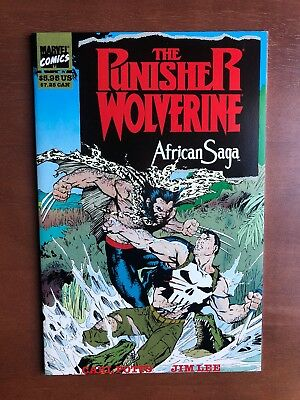 The Punisher And Wolverine African Saga (1988) 9.2 Man Marvel Key Issue Comic