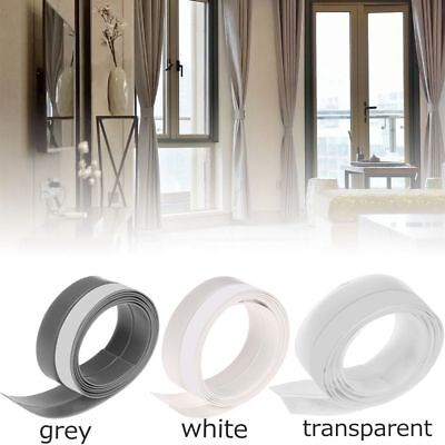 Door Window Bathroom Transparent  Silicone Moldproof Wall Sticker Sealing strip