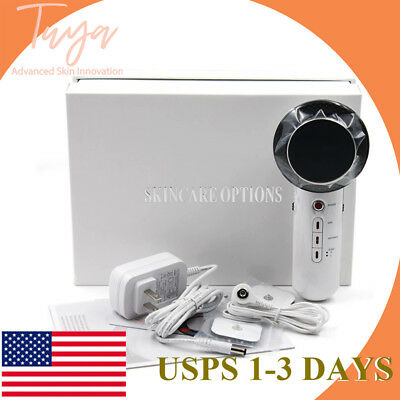 3in1 Ultrasonic Infrared Lights Facial Body Slimming Pain Therapy Beauty Machine