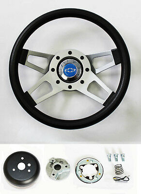 Summit Grant Chevy Black Horn Button for 5 Hole Aftermarket Steering wheels FS