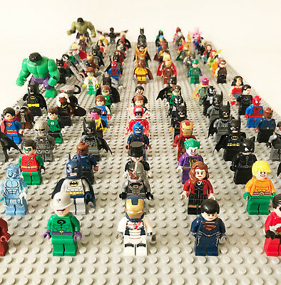 RANDOM LEGO Super Heroes Minifigures Marvel DC Comics Avengers Batman Superman