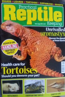 PRACTICAL REPTILE KEEPING AUGUST 2014 Uromastyx magazine