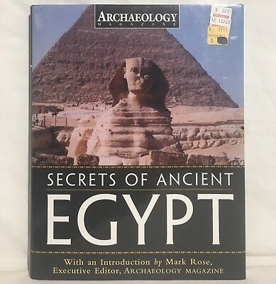 SECRETS OF ANCIENT EGYPT Hardcover Book Archaeology Magazine 2004