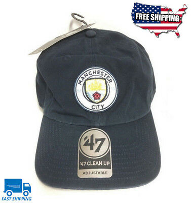 cce8a611781  47 BRAND NEW Manchester City EPL Cap Clean Up Adjustable