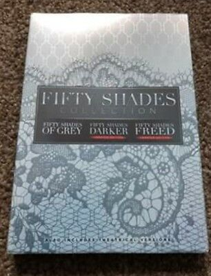 Fifty Shades 3 Movie Collection Complete Dvd Box Set