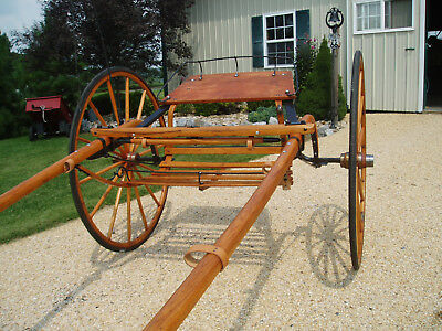 19th CENTURY HORSE DRAWN SULKY/BUGGY/WAGON/CARRIAGE