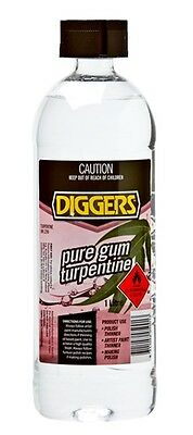 Diggers Turps Pure Gum   1L