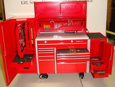 Snap-On (Crown Premiums) 1/8 Scale Krl Series Workstation Bank Replica (New)