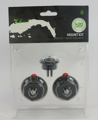 Genuine 360 Fly Camera Mount Kit Standard 1/4 20 Male 4K Compatible New Other