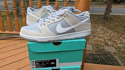 more photos a04ce d599a Nike SB Dunk Low Summit White   Wolf Grey size 13