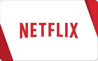 Netflix Gift Card - $15 $30 or $100 - Email delivery