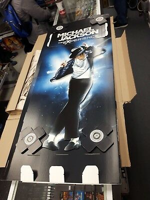 Michael Jackson The Experience standee store display
