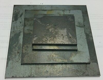 HOT R/ MILD STEEL PLATE 3mm 400X400 300X300 200x200 150x150 100X100 75X75 50X50
