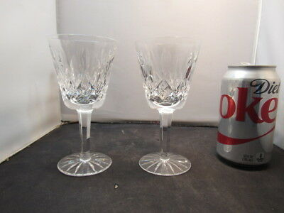 """Waterford Crystal Lismore Pattern Claret Wine Glass (S) 5 7/8"""" Tall Excellent"""