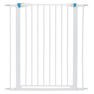 Midwest WalkThru Steel Pet Gate with Safety Glow Framed for Dogs in Graphite
