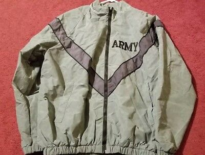 NWT GENUINE US ARMY PT JACKET IPFU WINDBREAKER WIND RAIN RESISTANT FREE SHIPPING