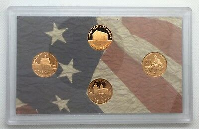2009-S Lincoln Cent Proof 4 Coin  US Mint Bicentennial Set No Box or COA