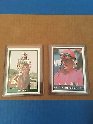 Horse Racing - Richard Migliore 1998-1999 Jockey Star Trading Cards