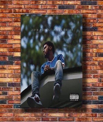 Art J Cole 2014 Forest Hills Drive Album Cover Rap Music Poster - Hot Gift C1315