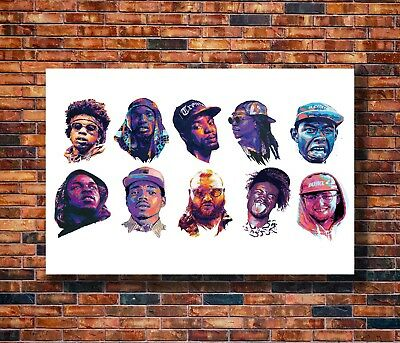 Art Chance the Rapper Rocky ASAP Music Rap Music 24x36in Poster - Hot Gift C525