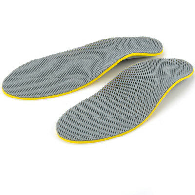 3D Orthotic Flat Feet Foot High Arch Gel Heel Support Shoe Inserts Insoles Pad