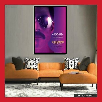 Toile Affiche Cinema Movie Sortie Film Poster Photo Bohemian Rhapsody 2 Formats