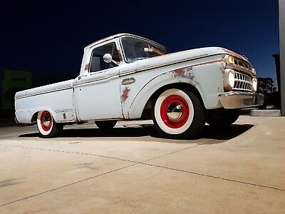 1965 Ford F100 ,short Bed,style Side,352 V8 ,auto,awesome Original Patina Truck.