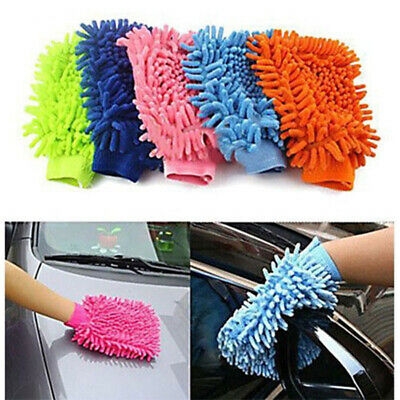 New Super Microfiber Car Washing Home Cleaning Glove Mitt Cloth Duster Towel