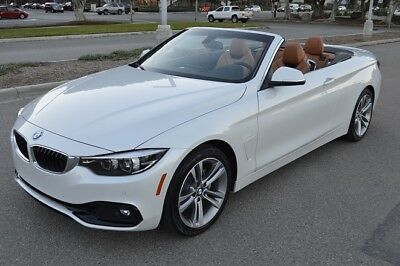 2018 BMW 4-Series Sport 2018 BMW 430i Convertible! LOADED! Excellent Condition! PRICED TO SELL!