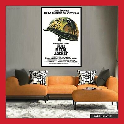 Toile Affiche Cinema Movie Sortie Film Poster Photo Full Metal Jacket 2 Formats