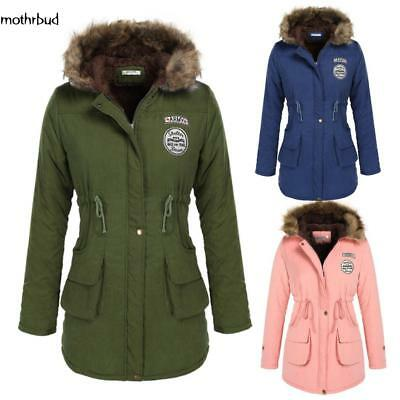 0a64fc31960d ANGVNS Women Winter Thicken Warm Hooded Packable Down Jacket Coat M5BD