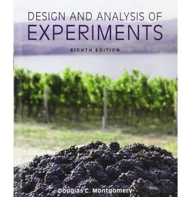 [PDF] Design and Analysis of Experiments 8th Edition 8E - Instant Email Delivery