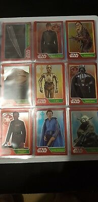 2015 Star Wars Journey To The Force Awakens Topps Trading Cards/ Rare Foils