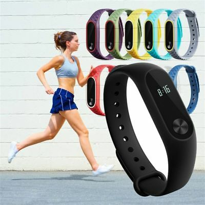 Strap Silicon Wristbands Replacement Wrist Bands Bracelet For XIAOMI MI Band 2