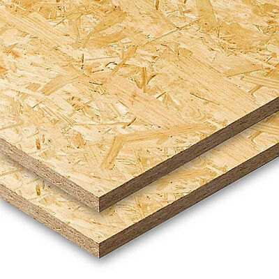 Structural OSB 3 engineered wood 8x4 sheets 9mm, 18mm