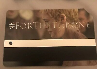 Cersei Lannister Game Of Thrones MTA Metro Card MetroCard NYC Limited Edition