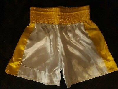 Childrens size boxing shorts. Kids boxing trunks martial arts mma combat