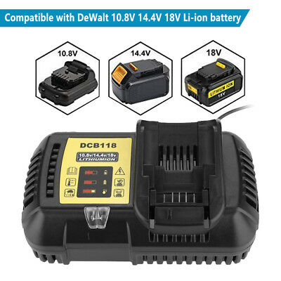 Replacement for DeWalt  DCB118 - 12V MAX - 20V MAX Li-Ion Battery Charger DCB115