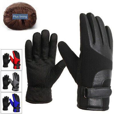 Touch Screen Gloves for Men,Cold Weather Windproof Thermal Glove for Smartphone