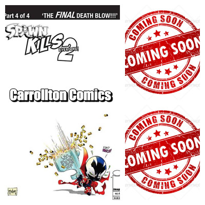 Image Spawn Kills Everyone too 4, B&W virgin & Sketch Mcfarlane Lot of 3 PreSale