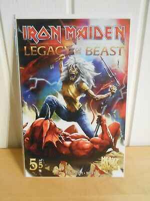 Iron Maiden - NEW COMIC BOOK - LEGACY OF THE BEAST