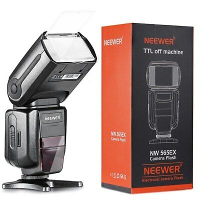 Neewer NW-565 EXN I-TTL Slave Speedlite with Flash + Diffuser for Nikon