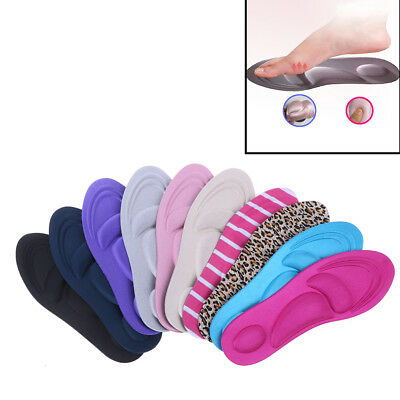 1 Pair 3D sponge soft insole sport high heel shoes relief insert pad insoles ^S