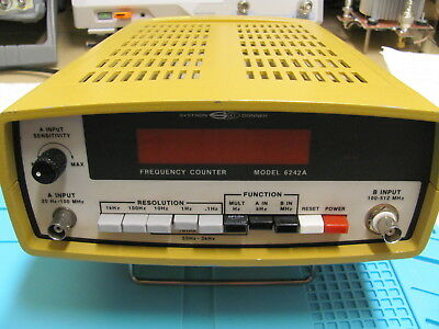 FREQUENCEMETRE / FREQUENCY COUNTER SYSTRON DONNER 512 Mhz