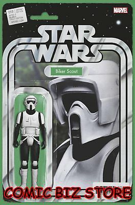Star Wars #59 (2019) 1St Printing Christopher Action Figure Variant Cover Marvel