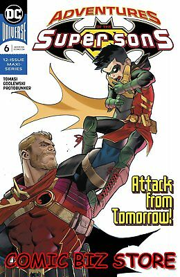 Adventures Of The Super Sons #6 (Of 12) (2019) 1St Printing Dc Universe