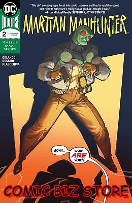 Martian Manhunter #2 (Of 12) (2019) 1St Printing Rossimo Main Cover Dc Universe