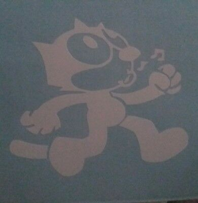 Felix the Cat decal (walking, whistling)